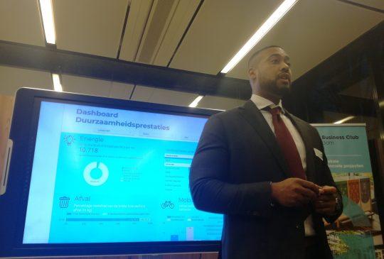 Presentation Dashboard Green Business Club